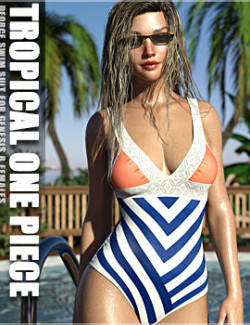 dForce Tropical One Piece
