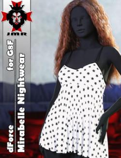 JMR dForce Mirabelle Nightwear for G8F