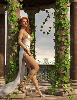 Rigged Ivy Vines