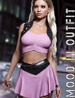 dForce Mood III Outfit for Genesis 8 Females