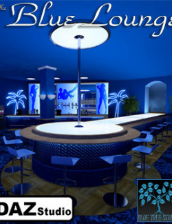 The Blue Lounge for Daz