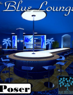 The Blue Lounge for Poser