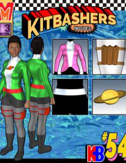 Kitbashers 054 MMG3F