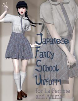 Japanese Fancy School Uniform for La Femme and Anime