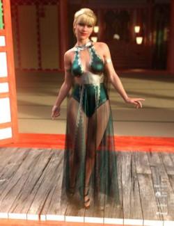 dForce Athiri Dress Set for Genesis 8 Female(s)