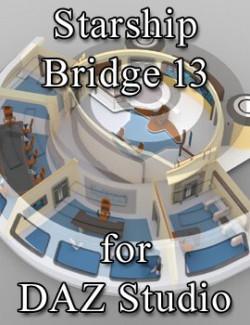 Starship Bridge 13 for DAZ Studio