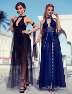 dForce Athiri Dress Textures