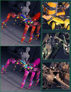 Uniforms for the Spider Mech