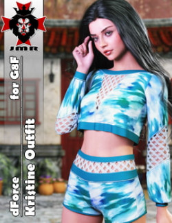 JMR dForce Kristine Outfit for G8F