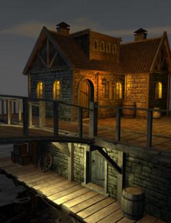 House in Riften for Daz Studio