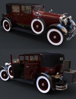 LINCOLN L TOWN CAR 1929 for DAZ Studio