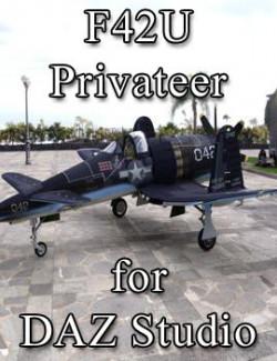 F42U Privateer for DAZ Studio