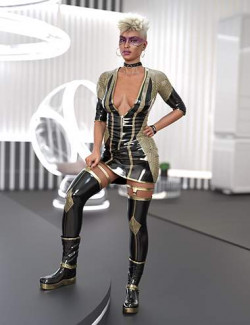 TEC2 Outfit for Genesis 8.1 Females