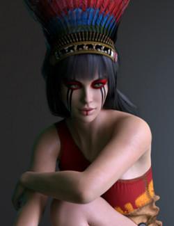 X-Fashion Native Set for Genesis 8 Females