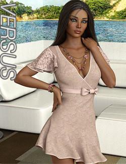VERSUS - dForce Miranda Dress Outfit for Genesis 8.1 Females