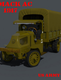 MACK AC 1917 for DAZ Studio