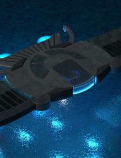 Sumerian Winged Disk 3D Model