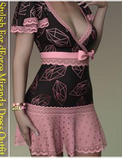 Stylish For dForce Miranda Dress Outfit