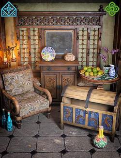 ROG Fantasy Home - Entrance Furniture Set