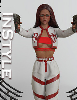 InStyle - The Leader dForce outfit for Genesis 8 & 8.1 Females