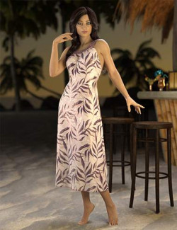 Beach Dress Deluxe for Genesis 8 and 8.1 Females