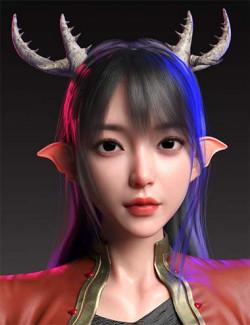 Satomi HD for Genesis 8.1 Female