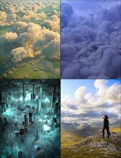 Cloudscape Creator Volumetric Clouds Bundle