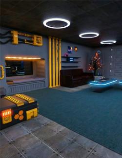 Sci-fi Habitat A7