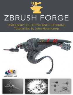 ZBrush: Sculpting and Texturing Spacecraft Tutorial Set