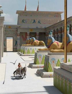 Deepsea Egyptian Ancient Texture Add-On