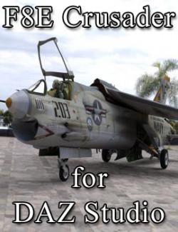 F8E Crusader for DAZ Studio