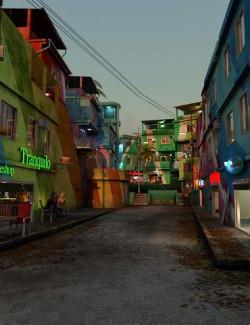 PW Down Town Favela Set