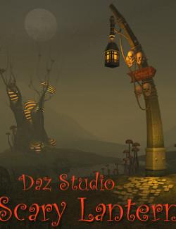 Scary Lantern for Daz Studio