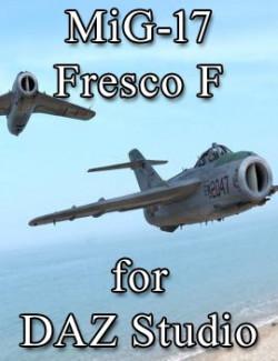 MiG-17 Fresco F for DAZ Studio