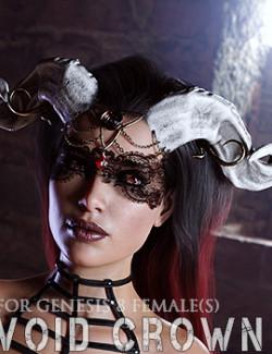 Void Crown for Genesis 8 Females