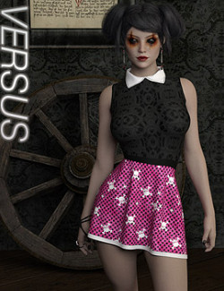 VERSUS - dForce Emo Doll Outfit for Genesis 8 Females