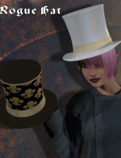 Rogue Hat for Poser