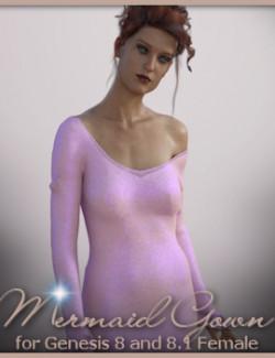 dForce Mermaid Gown for G8F & G8.1F