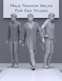Fashion Walks for Genesis 8 and 8.1 Males