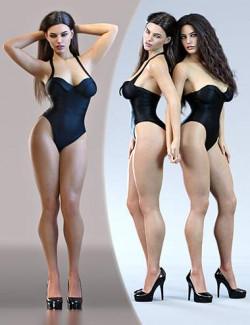 Z Curvaceous Model Shape and Pose Mega Set