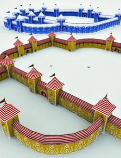 North Pole Castle Kit for Poser