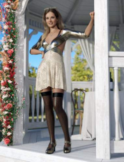 Wrapped in Summer Outfit for Genesis 8.1 Females