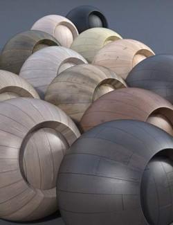 Hardwood Floor - Iray Shaders