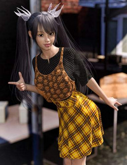 dForce Late Summer Outfit for Genesis 8 Females