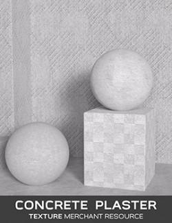 Daz Iray - Concrete Plaster