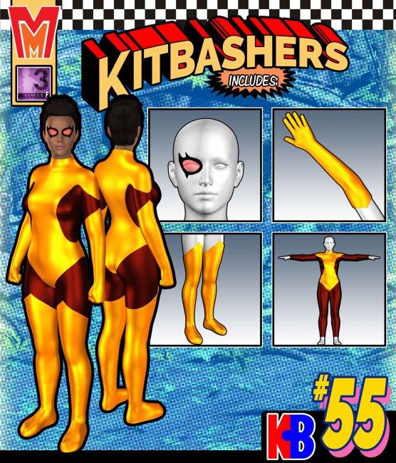 Kitbashers 055 MMG3F