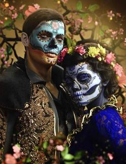 FPE Dia de los Muertos LIE Makeup for Genesis 8.1