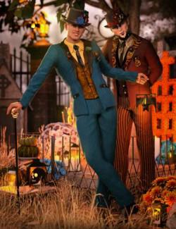 Dia De Los Muertos Male Outfit Textures