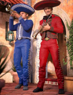 Mariachi Male Outfit Textures