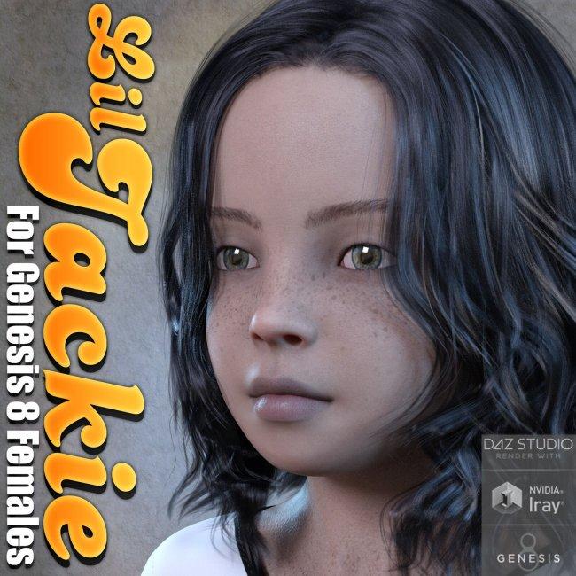 Lil Jackie For Genesis 8 Females